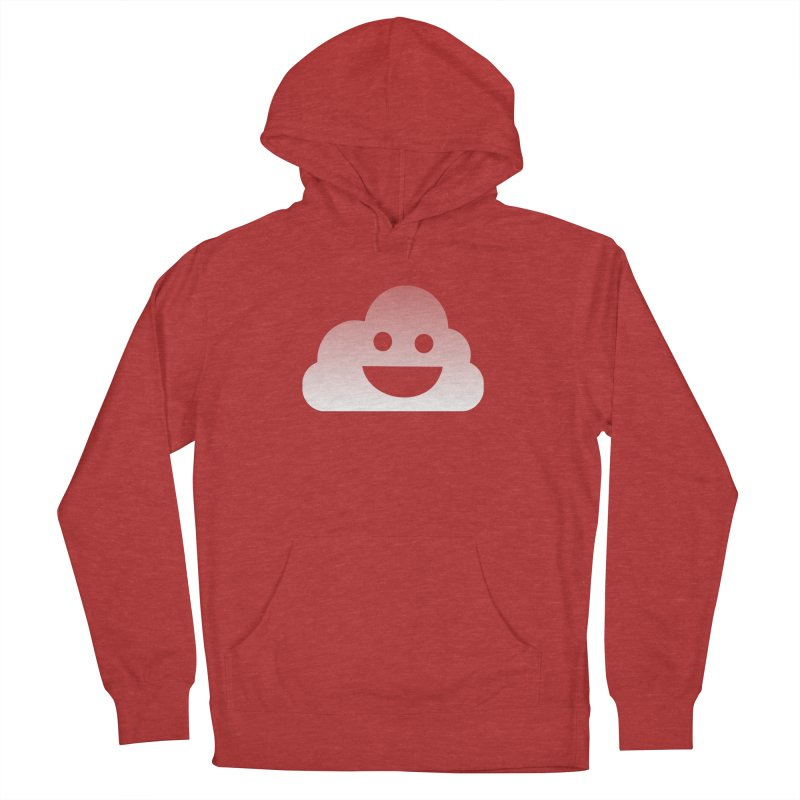 Happy Cloud Men's French Terry Pullover Hoody by Studio S
