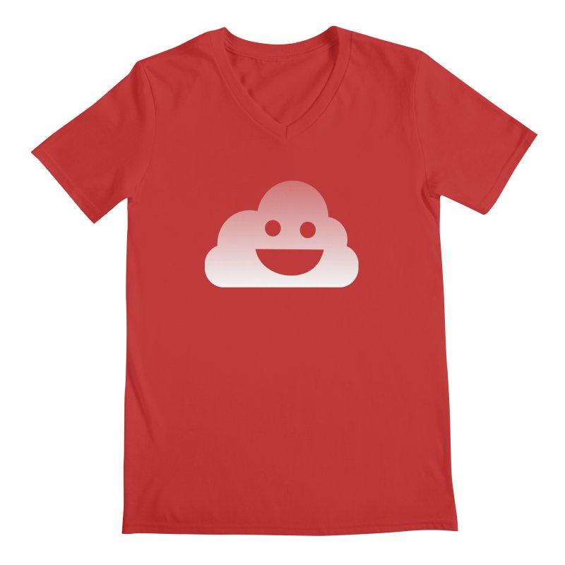 Happy Cloud Men's V-Neck by Studio S