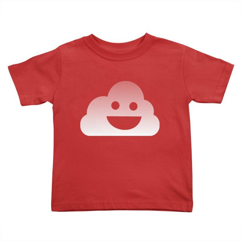 Happy Cloud Kids Toddler T-Shirt by Studio S