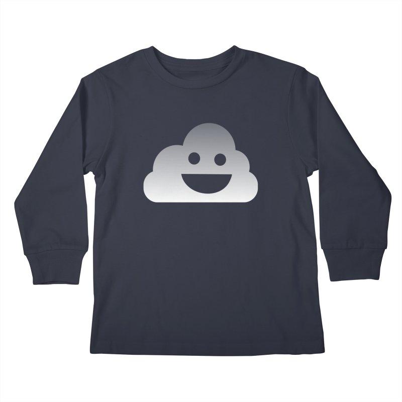 Happy Cloud Kids Longsleeve T-Shirt by Studio S