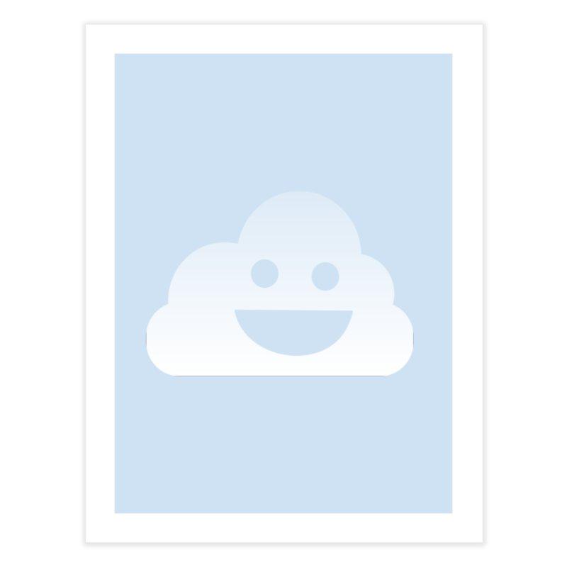 Happy Cloud Home Fine Art Print by Studio S