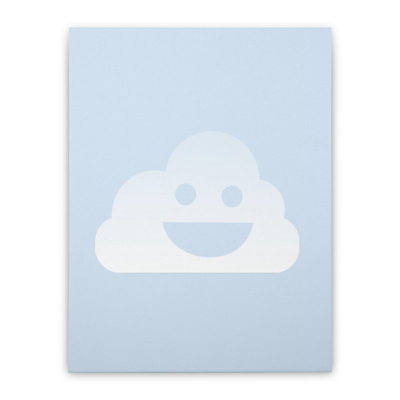 Happy Cloud Home Stretched Canvas by Studio S