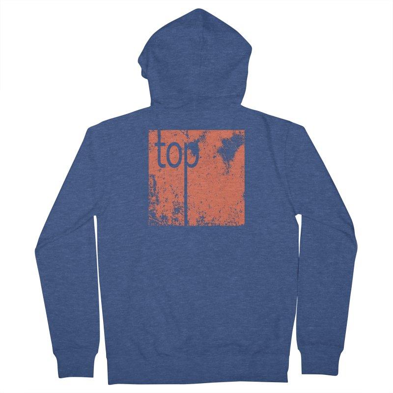 #top Men's Zip-Up Hoody by Studio S