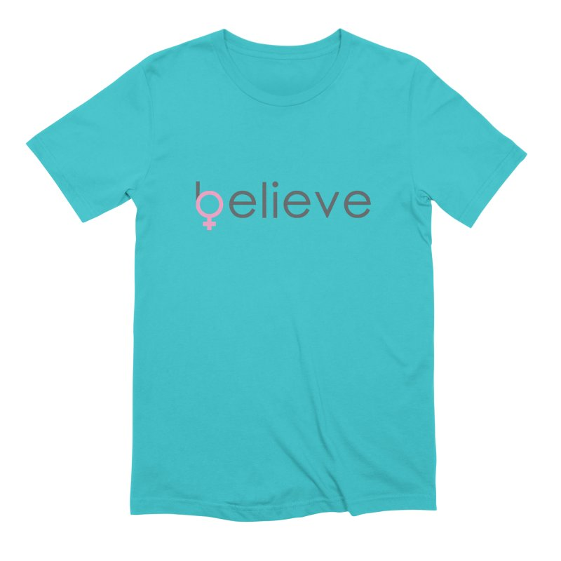 #believe Men's Extra Soft T-Shirt by Studio S