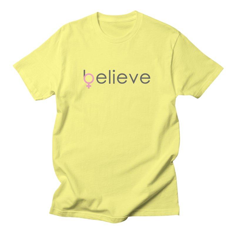 #believe Men's T-Shirt by Studio S
