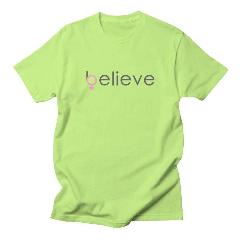 #believe Men's Regular T-Shirt by Studio S