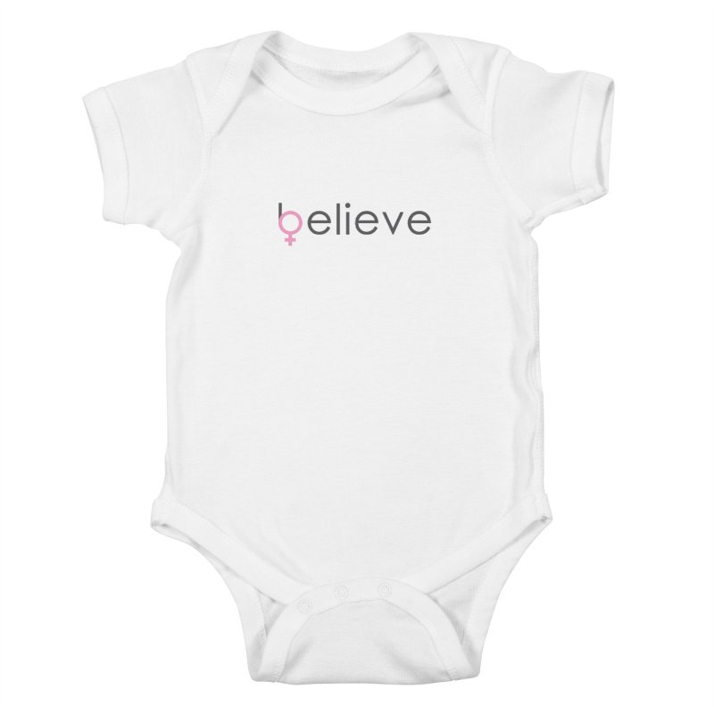 #believe Kids Baby Bodysuit by Studio S