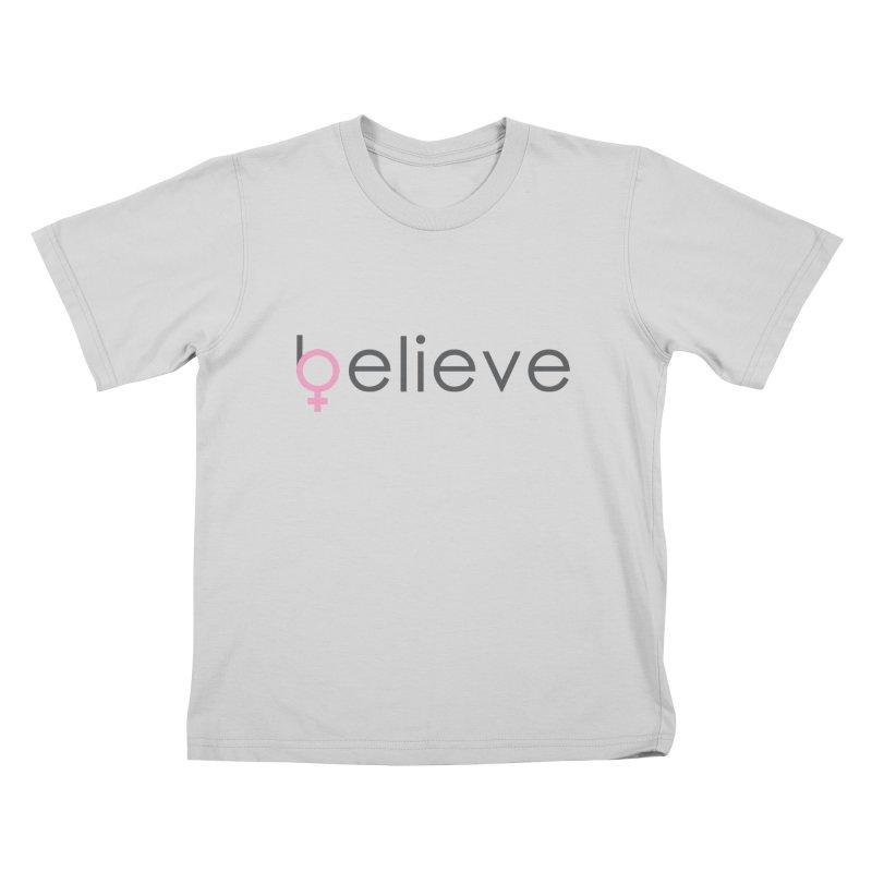 #believe Kids T-Shirt by Studio S