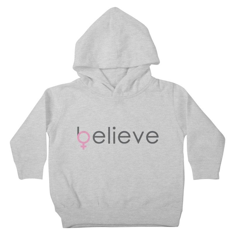#believe Kids Toddler Pullover Hoody by Studio S