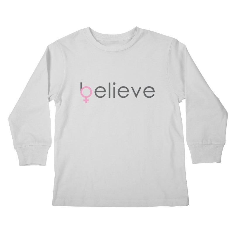 #believe Kids Longsleeve T-Shirt by Studio S
