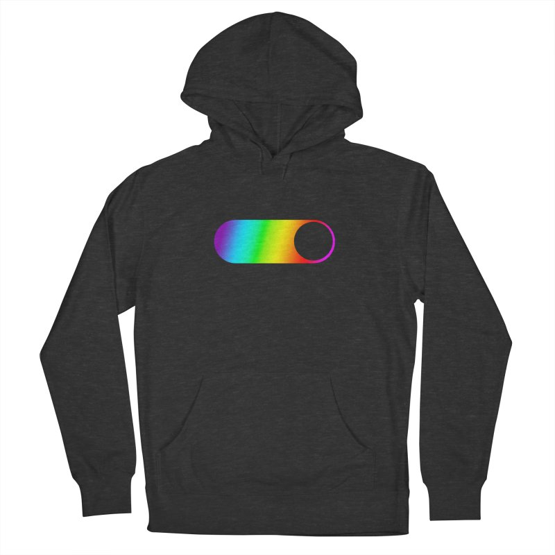 Pride On Men's French Terry Pullover Hoody by Studio S
