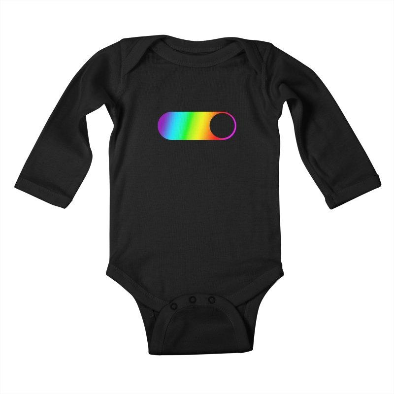 Pride On Kids Baby Longsleeve Bodysuit by Studio S