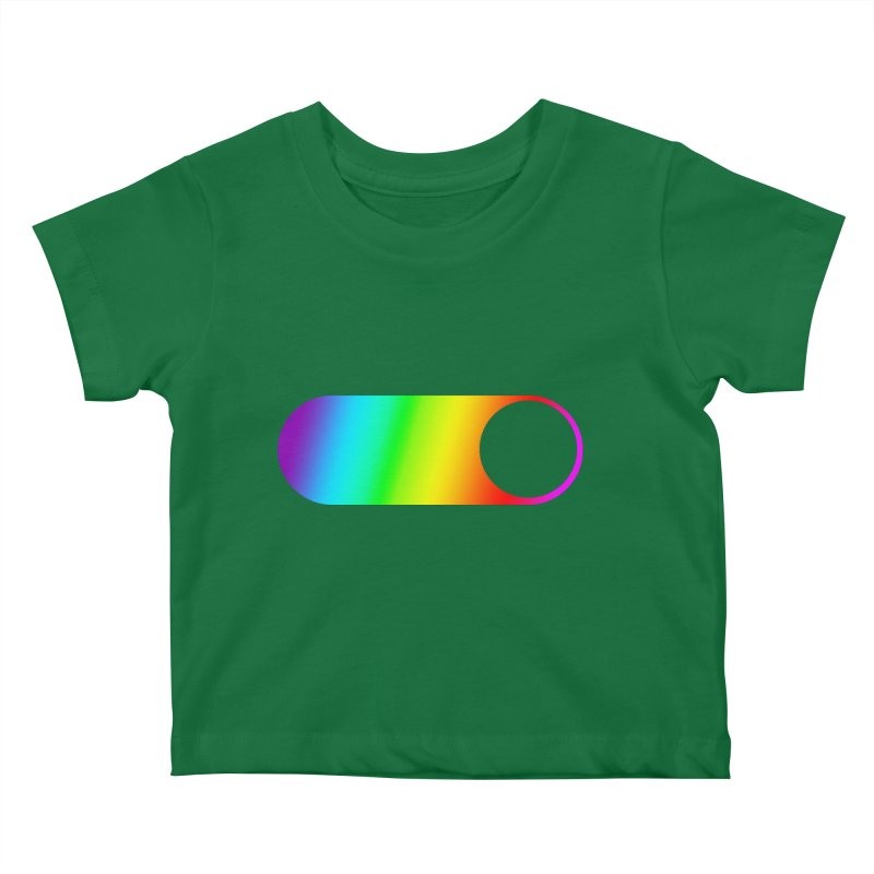 Pride On Kids Baby T-Shirt by Studio S