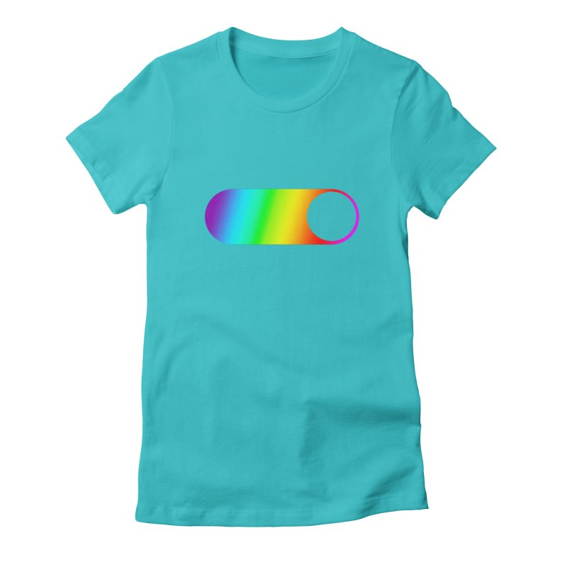 Pride On Women's Fitted T-Shirt by Studio S