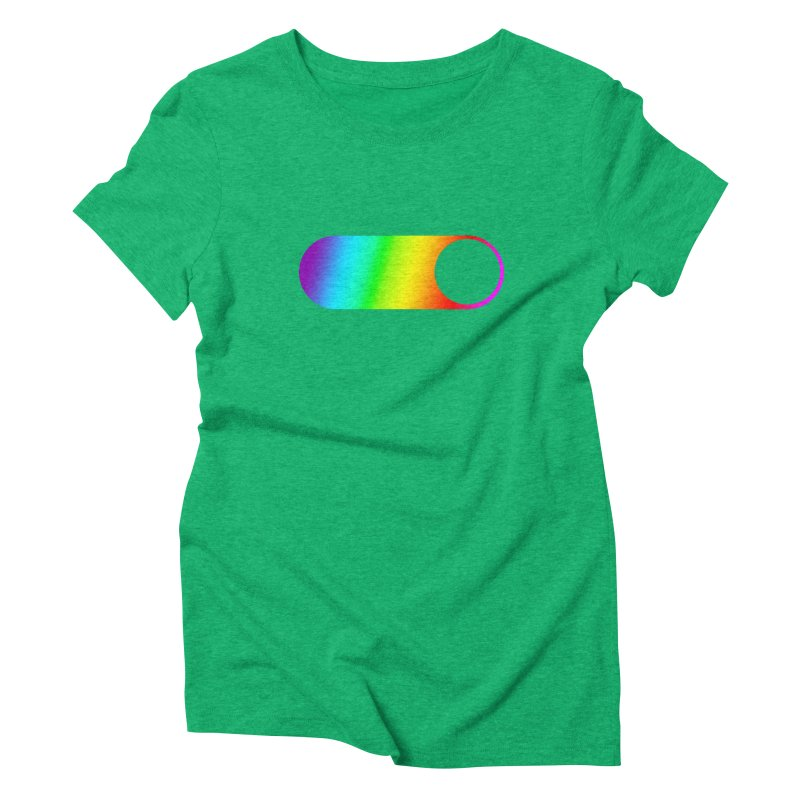 Pride On Women's Triblend T-Shirt by Studio S