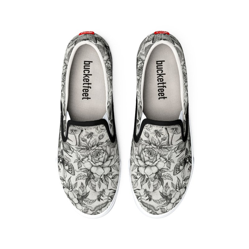 Botanical Pattern Women's Shoes by Studio Vickn Artist Shop