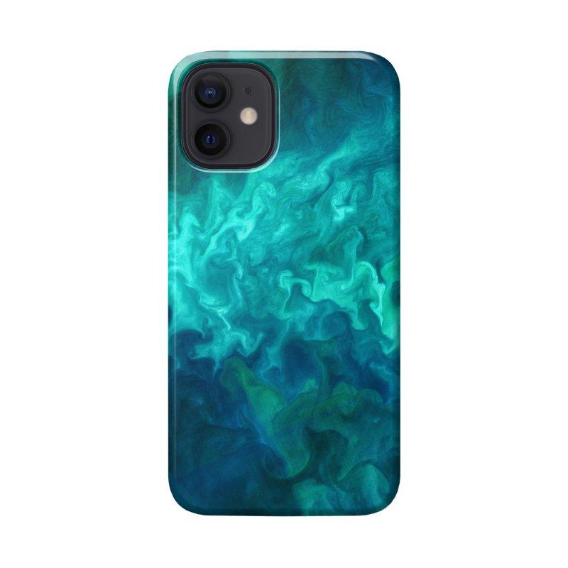 Green Sea Water Accessories Phone Case by Studio Vickn Artist Shop