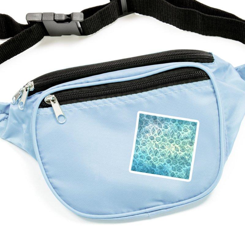 Blue Seashells Accessories Sticker by Studio Vickn Artist Shop