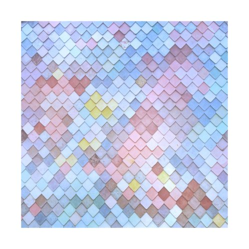 Design for Geometric Pastel Pattern