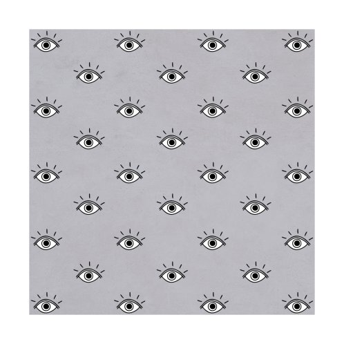 Design for Eyes Pattern (Gray)