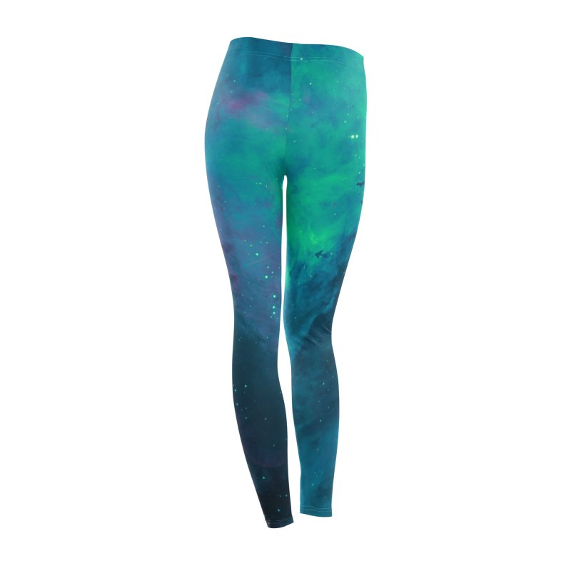 Nebula Oceanic Women's Bottoms by Studio Vickn Artist Shop