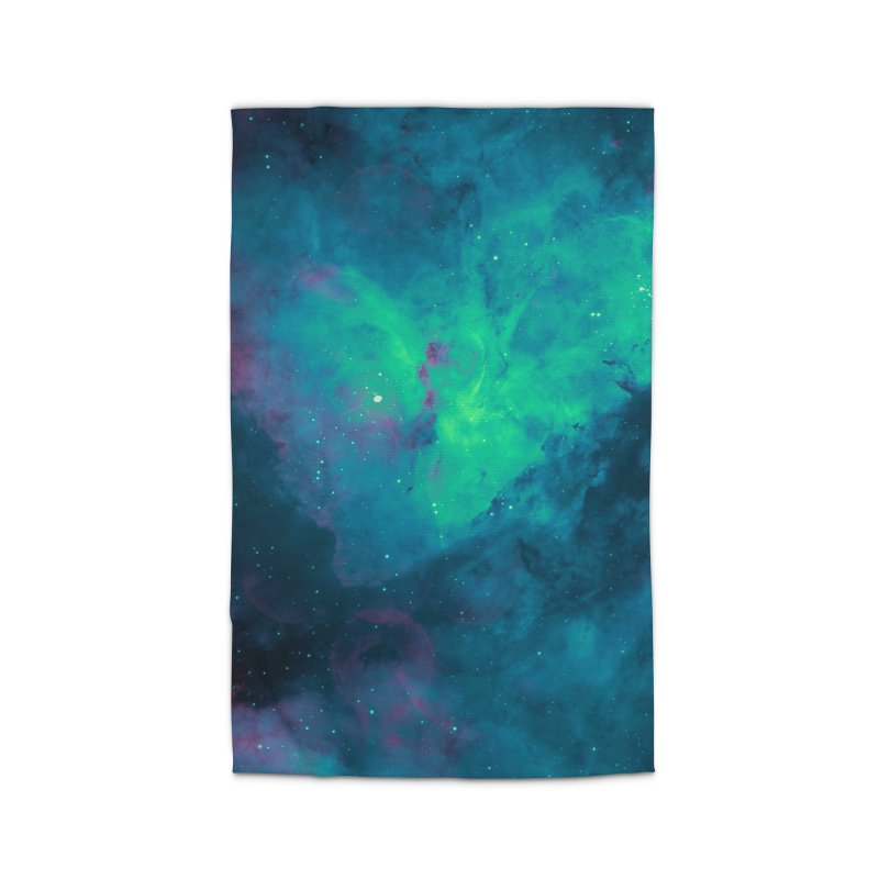 Nebula Oceanic Home Rug by Studio Vickn Artist Shop