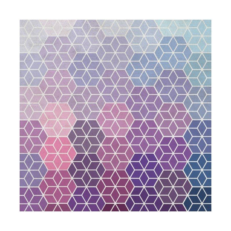 Colorful Geometric Gradient Mosaic Accessories Face Mask by Studio Vickn Artist Shop