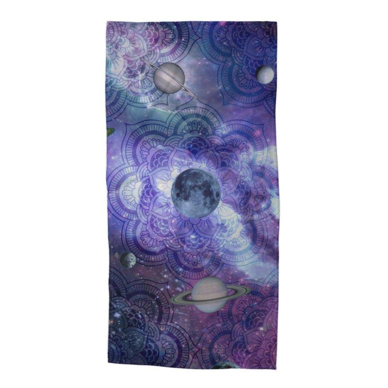 Beautiful Cosmos Accessories Beach Towel by Studio Vickn Artist Shop