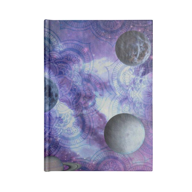 Beautiful Cosmos Accessories Notebook by Studio Vickn Artist Shop