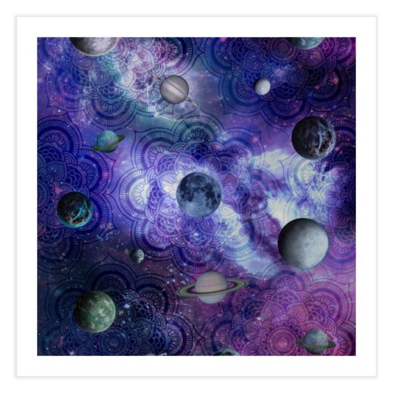 Beautiful Cosmos Home Fine Art Print by Studio Vickn Artist Shop