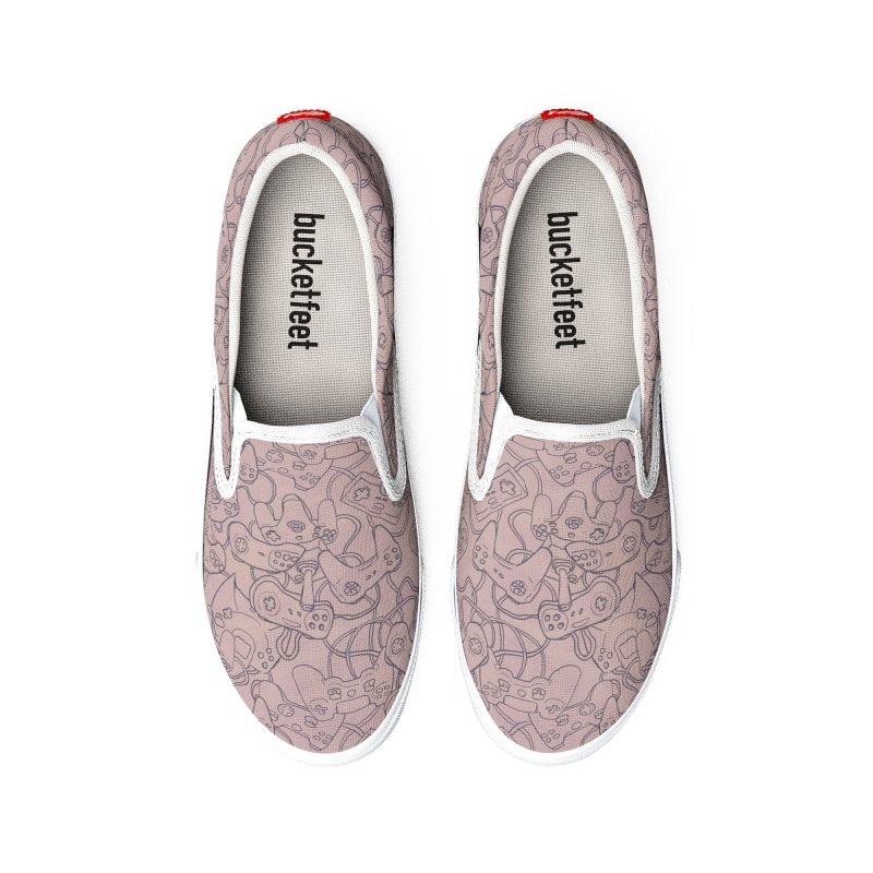 Joysticks (Rosé) Men's Shoes by Studio Vickn Artist Shop