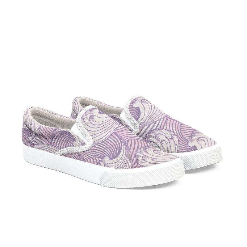 Lilac Waves Men's Shoes by Studio Vickn Artist Shop