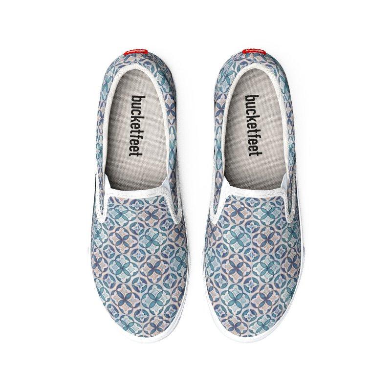 Geometric Tiles Men's Shoes by Studio Vickn Artist Shop