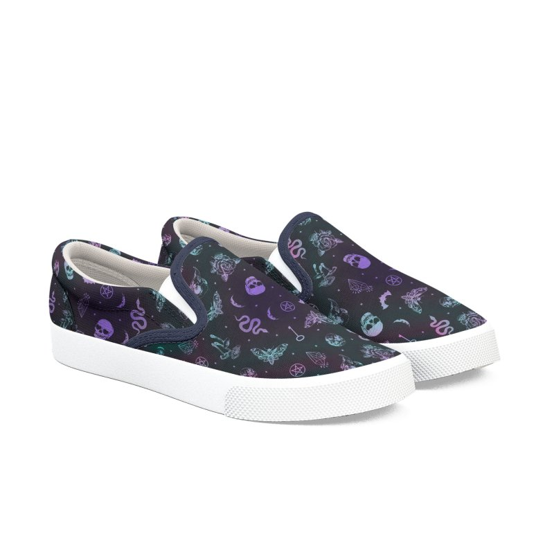 Witchcraft Pattern Men's Shoes by Studio Vickn Artist Shop