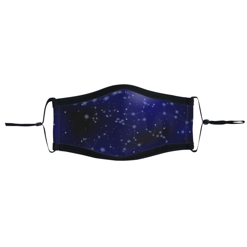Interstellar Accessories Face Mask by Studio Vickn Artist Shop
