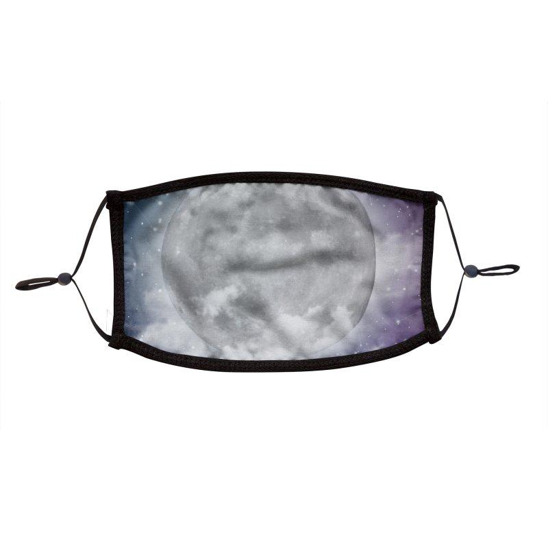 Magical Moonlight Accessories Face Mask by Studio Vickn Artist Shop