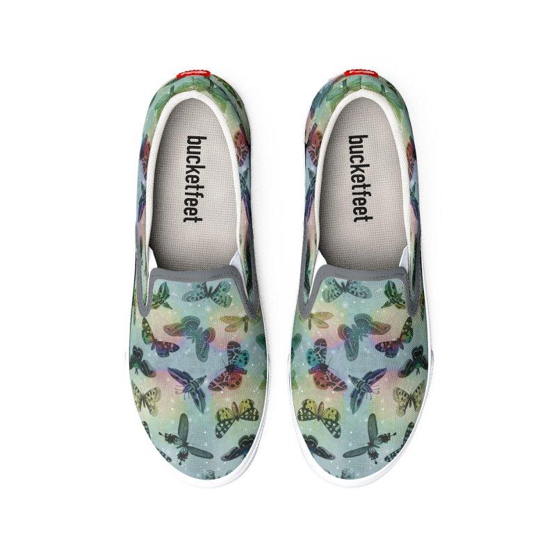 Moths & Butterflies III Men's Shoes by Studio Vickn Artist Shop