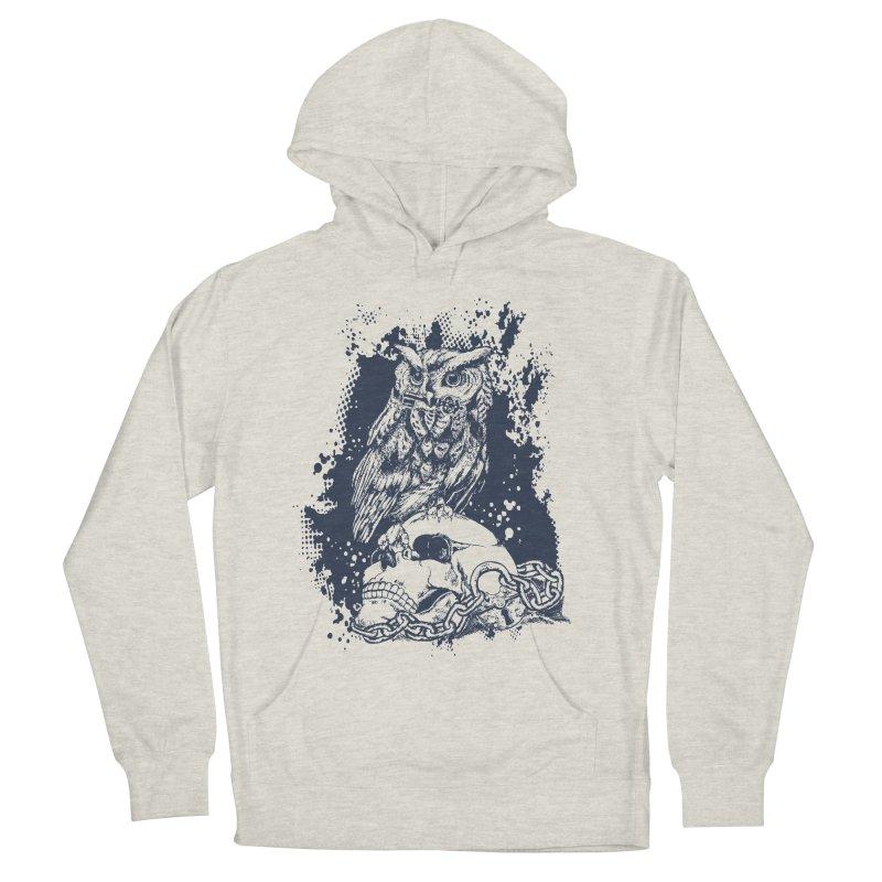 OwlSkull Women's Pullover Hoody by studiovii's Artist Shop