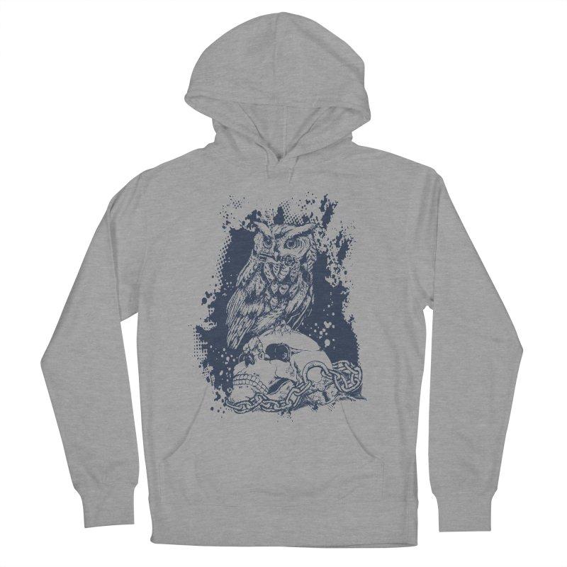 OwlSkull Men's Pullover Hoody by studiovii's Artist Shop