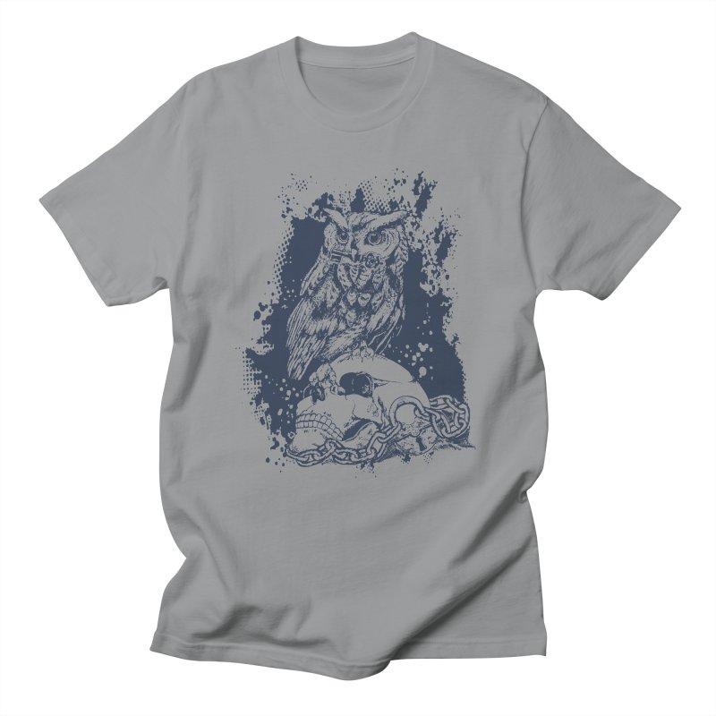 OwlSkull Men's T-Shirt by studiovii's Artist Shop