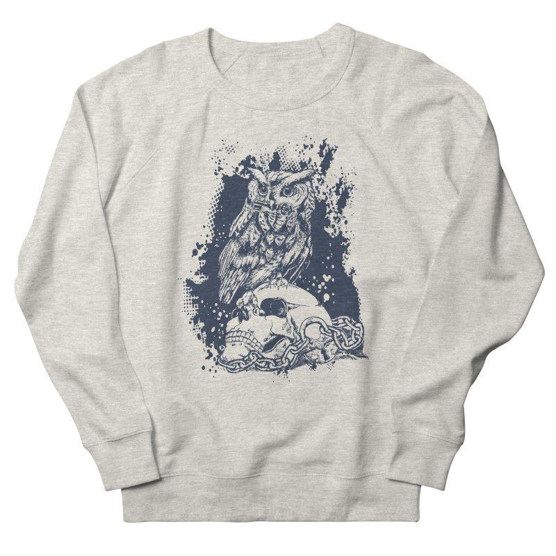 OwlSkull Women's Sweatshirt by studiovii's Artist Shop