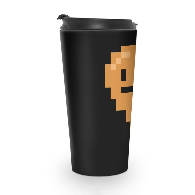 8bit Chicken! Accessories Travel Mug by stumpytown