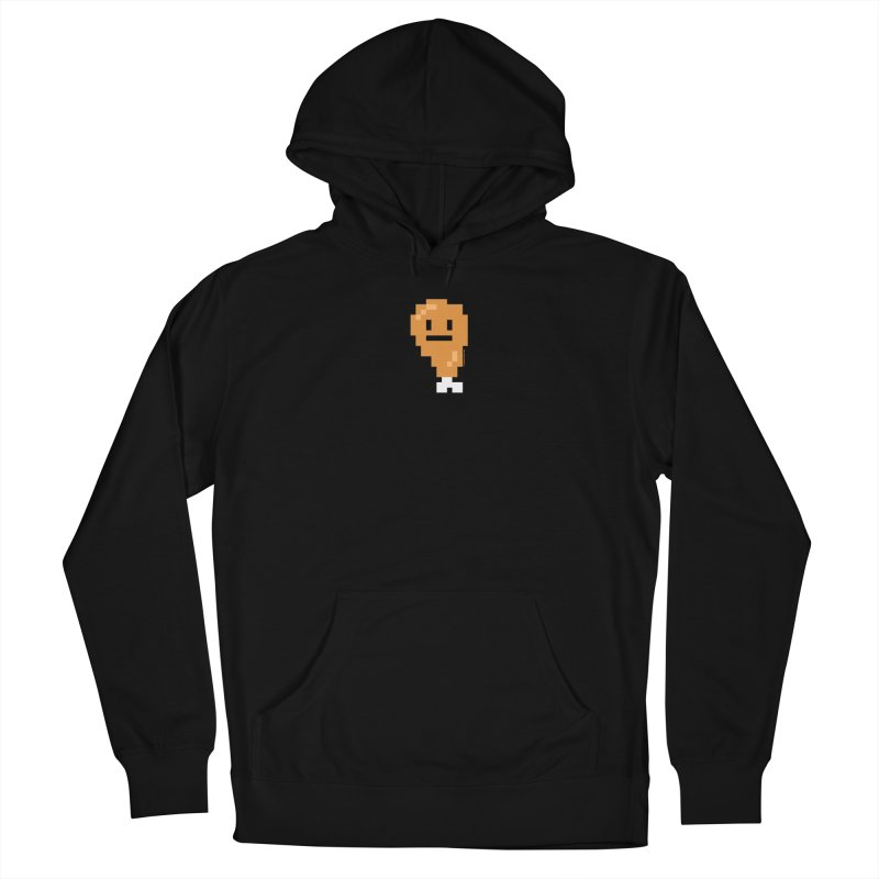 8bit Chicken! Men's French Terry Pullover Hoody by stumpytown