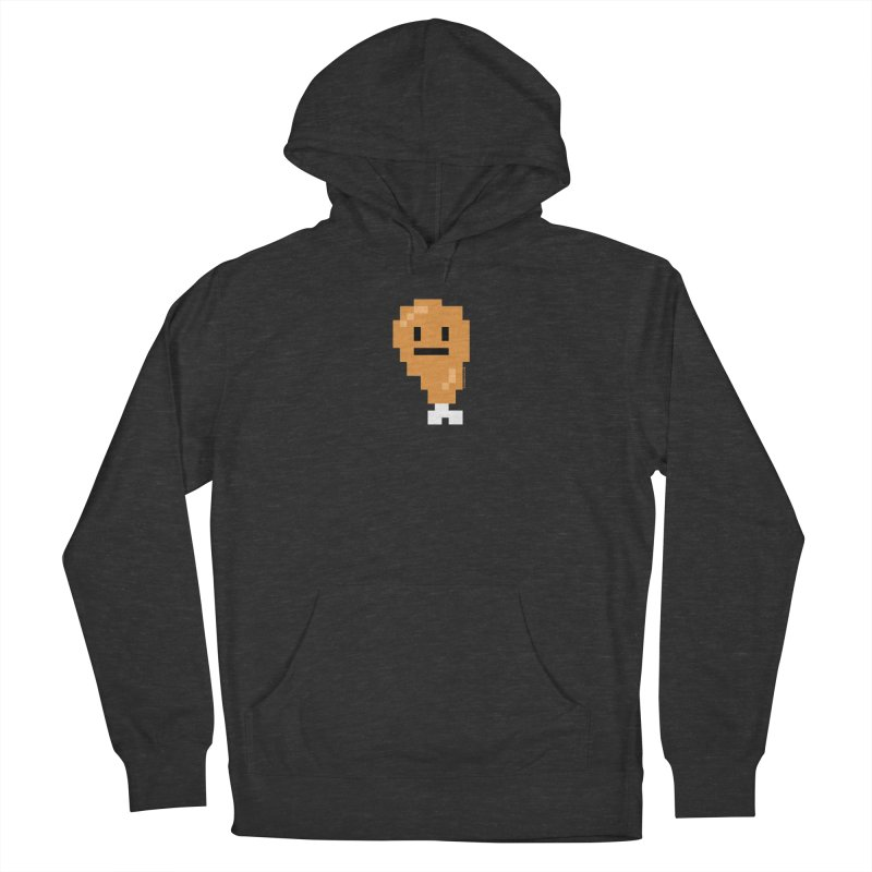 8bit Chicken! Women's French Terry Pullover Hoody by stumpytown