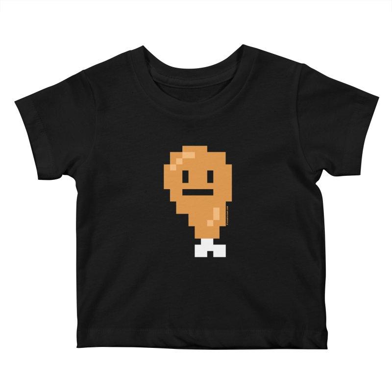 8bit Chicken! Kids Baby T-Shirt by stumpytown