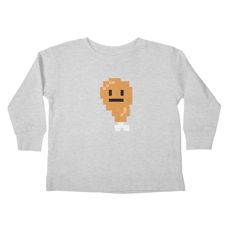 8bit Chicken! Kids Toddler Longsleeve T-Shirt by stumpytown