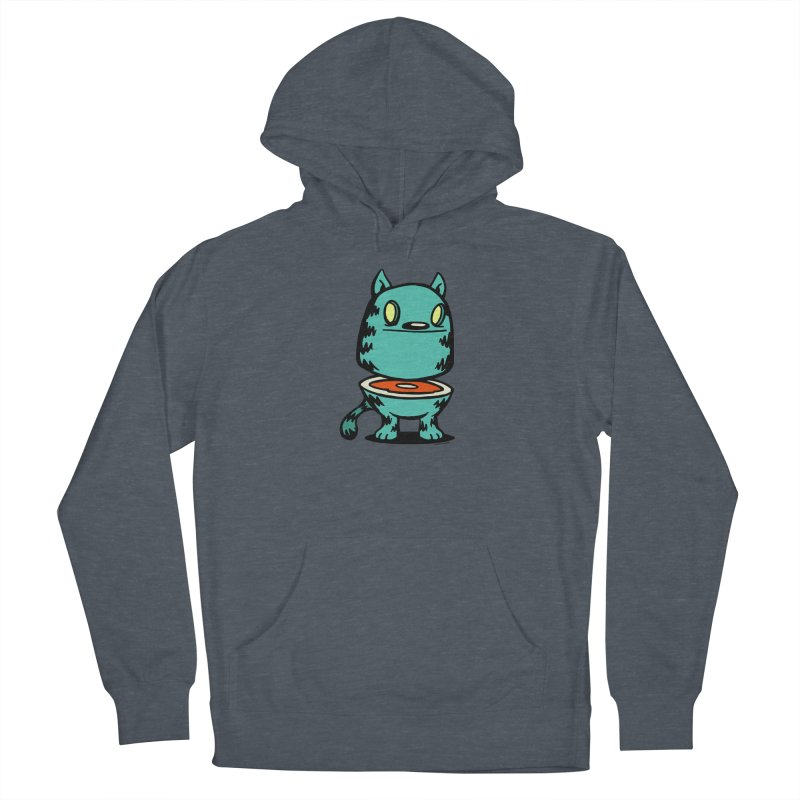 Cat Steak! Men's French Terry Pullover Hoody by stumpytown