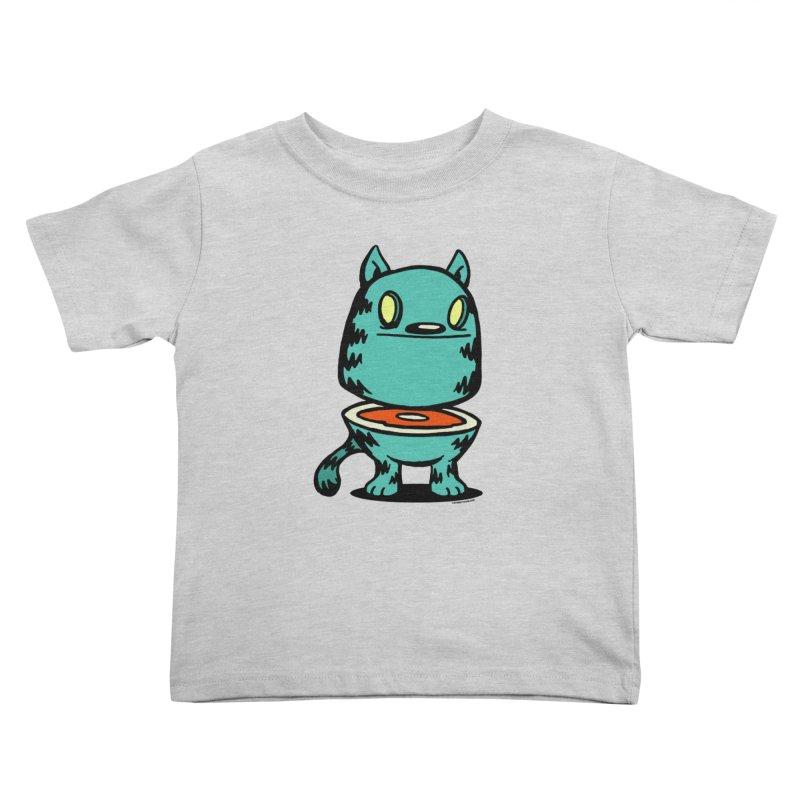 Cat Steak! Kids Toddler T-Shirt by stumpytown