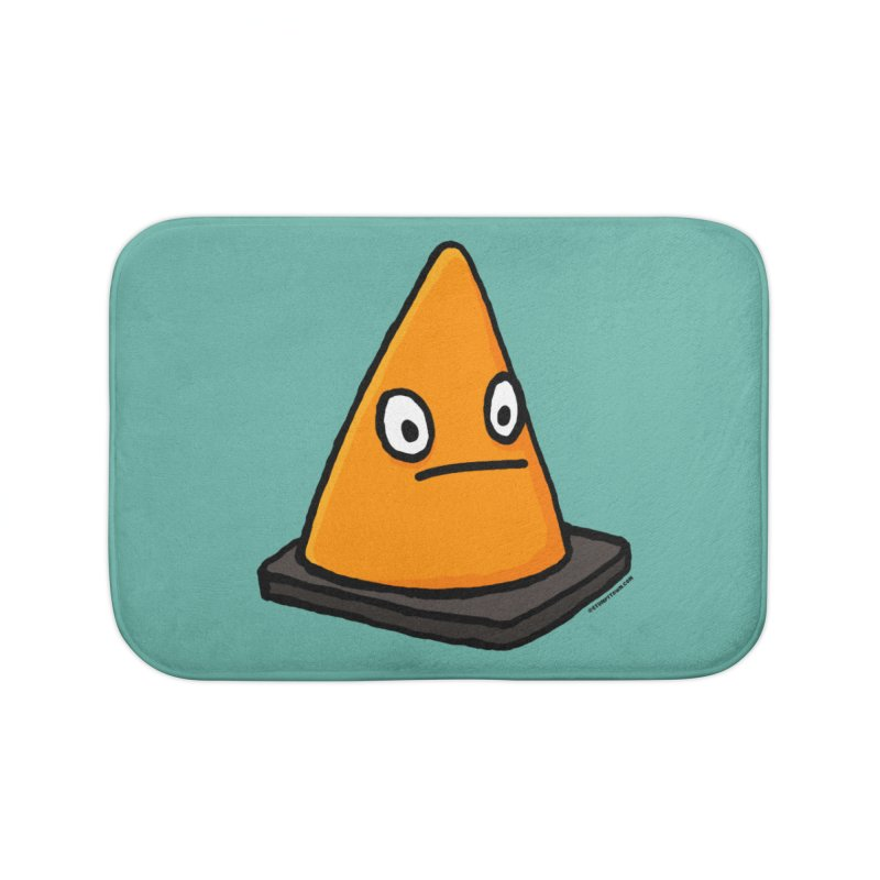 Lone Cone Without a Home Home Bath Mat by stumpytown