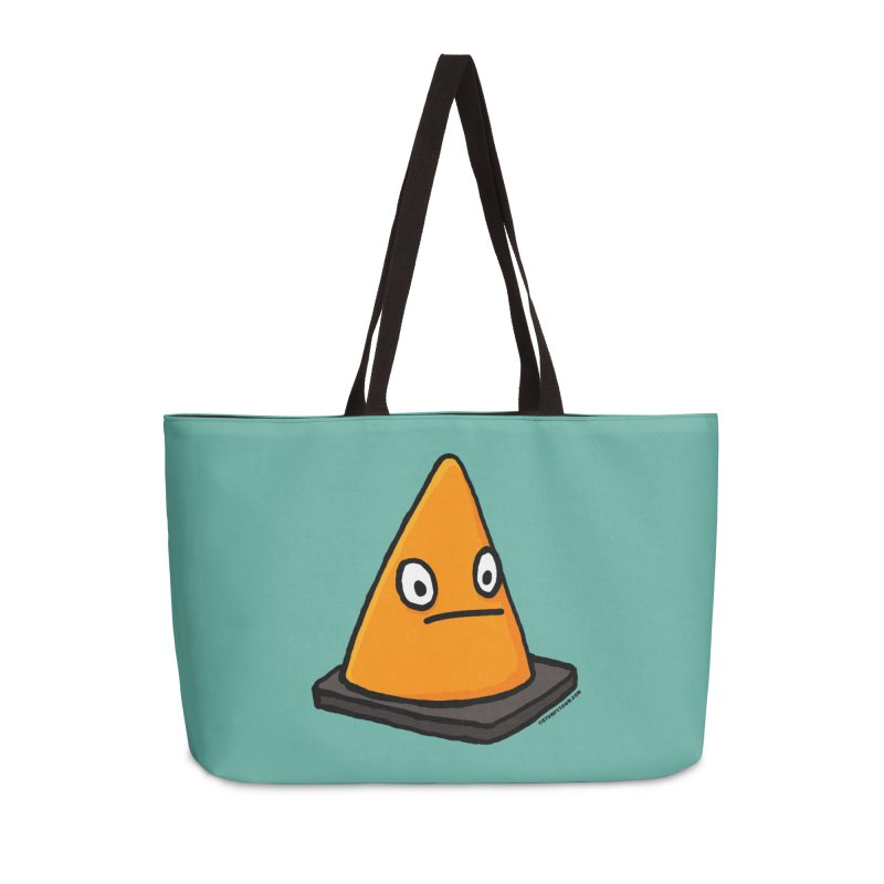 Lone Cone Without a Home Accessories Weekender Bag Bag by stumpytown